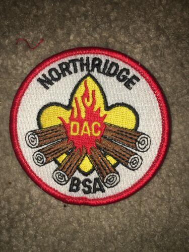 Boy Scout BSA Detroit Area Type 1 BLK Northridge District DP CP Council Patch