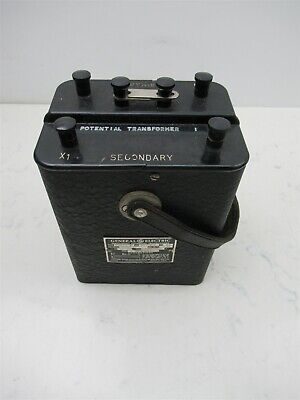Instrument Potential Transformer Ge General Electric E-6 8097846 Rare Vintage