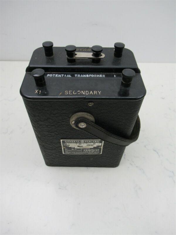 Instrument Potential Transformer GE General Electric E-6 8097846 Rare Vintage