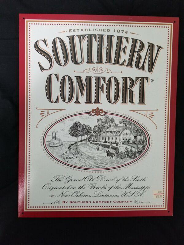 """Southern Comfort Metal Tin Sign 12x16"""" Bar Mancave Gameroom Decor"""