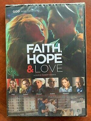 Faith DVD Faith Hope & Love God was Listening Ed Asner Robert Krantz Michael Ric