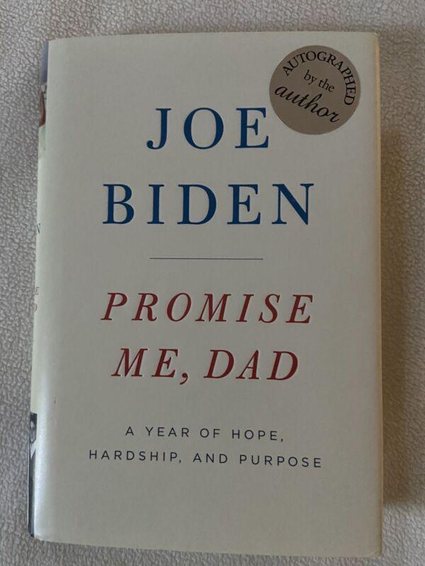 Joe Biden Hand Signed Book