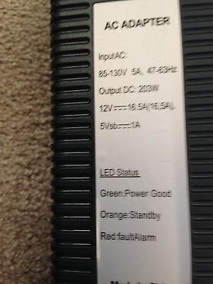 POWER ADAPTER FOR MICROSOFT XBOX 360 60 GB CONSOLE, used for sale  Shipping to India