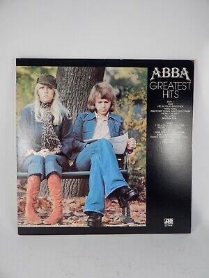 "ABBA  ""ABBA  Greatest Hits"" LP  Atlantic – SD 19114 Gatefold Sleeve VG+/EX"