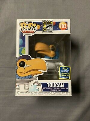 Funko Pop! AD ICONS #103 Toucan Astronaut - SDCC 2020 Funko Exclusive