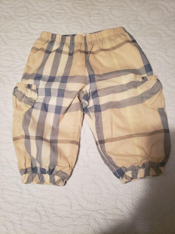 Burberty Babh Pants Sz 12 M