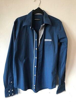 Merish , Hemd , Herren , blau , Gr. S/M online kaufen