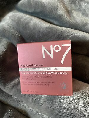 Boots No.7 Restore and Renew Multi Action Night Cream