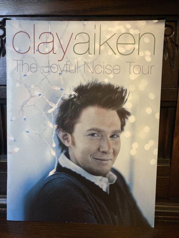 Clay Aiken Concert Souvenir Program, The Joyful Noise Tour, American Idol