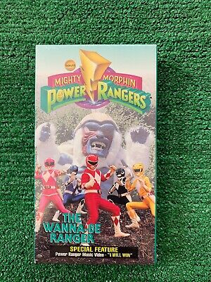 1994 VHS Sabans Mighty Morphin Power Rangers The Wanna-Be (Mighty Morphin Power Rangers The Wanna Be Ranger)