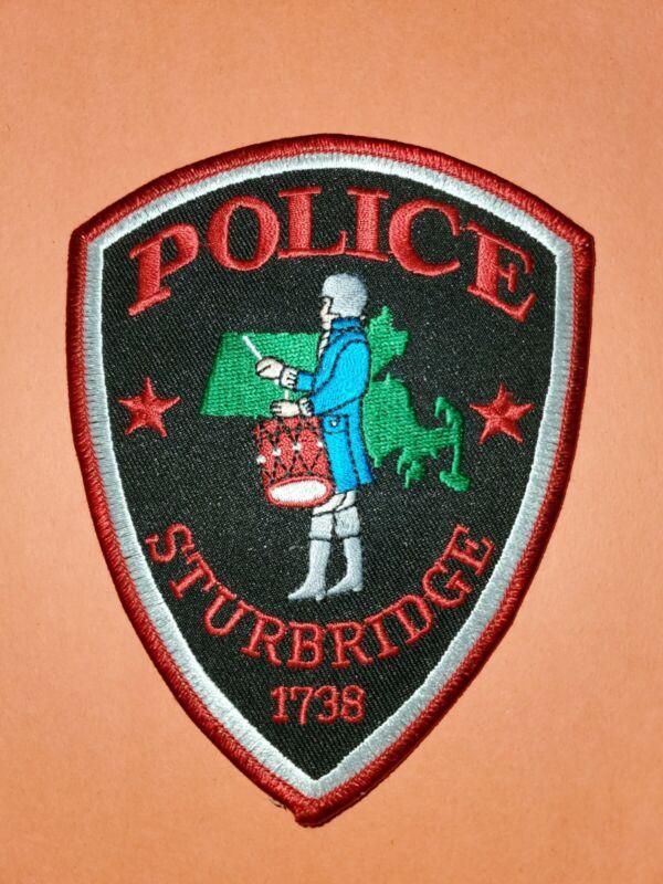 Sturbridge Police Massachusetts MA Patch (A5)