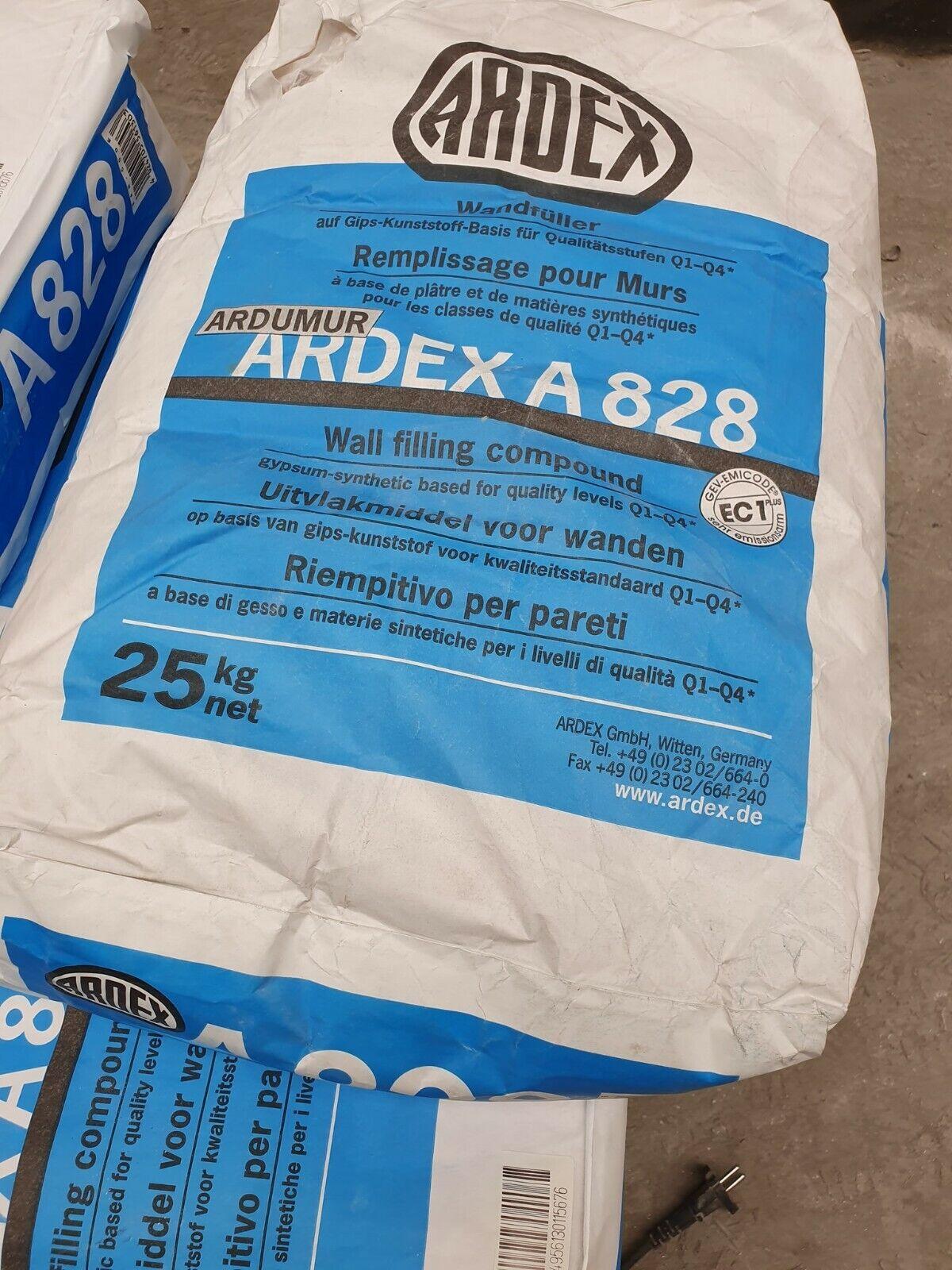 Ardex A828  Finishspachtel Glättpachtel Deckenspachtel Wandspachtel 25 kg