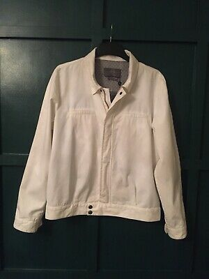 Genuine Vintage Alexander McQueen Jacket In White Size 54 Unworn