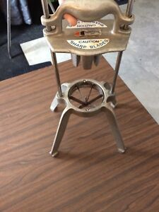 Commercial Restaurant French Fry Wedge Machine