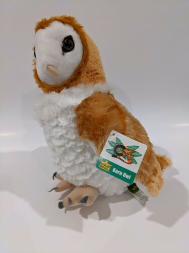 "12"" Plush Barn Owl by Wild Republic - Brand New - SUPER CUDD"