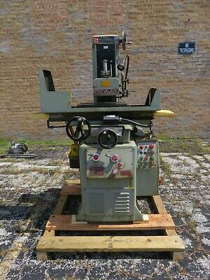 Chevalier Fsg - 2a618 Hydraulic Surface Grinder W Coolant Pump Dust Collector