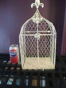Ornamental bird cage for display, weddinga