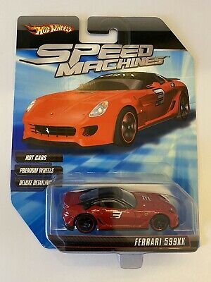 Hot Wheels Speed Machines Ferrari 599XX Red