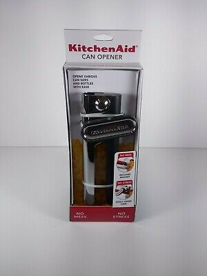 Kitchen Aid Can Opener Opens Various Can Sizes and Bottles With Ease (A4 TC)