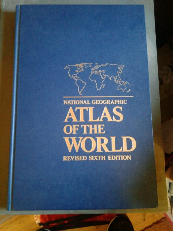 National Geographic Atlas of the World - Revised Sixth Edition Very large book