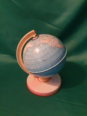 Vintage 1970's Chad Valley Tin World Globe - Good Original Condition