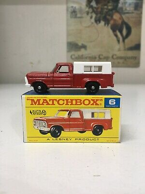 Matchbox Lesney $6 Ford Pickup Truck BOXED