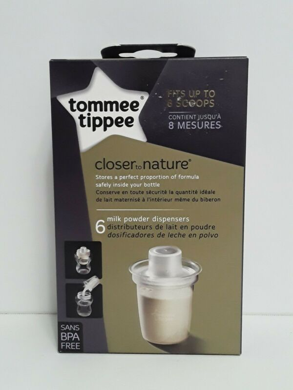 Tommee Tippee Baby Milk Powder, Formula Dispensers Travel Storage Container NEW!