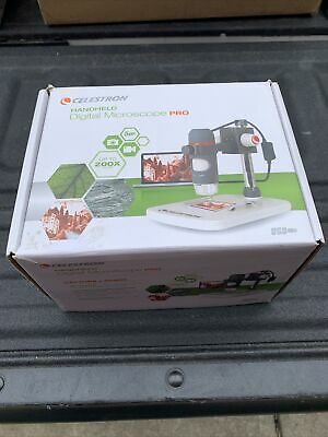 Celestron 5 Mp Handheld Digital Microscope Pro-new Open Box
