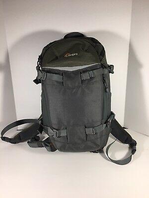 Lowepro Flipside Trek BP 250 AW Backpack, for Camera, DJI Mavic, Gray/Dark Green