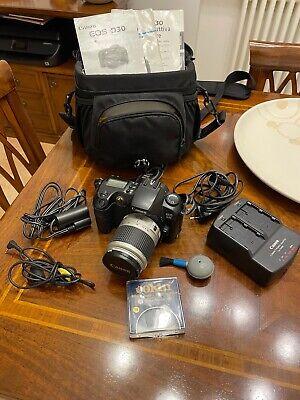 Fotocamera reflex digitale Canon Eos D30 semiprofessionale con accessori