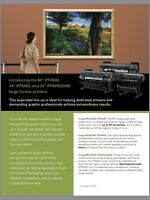 Ultra fine quality Large format printing
