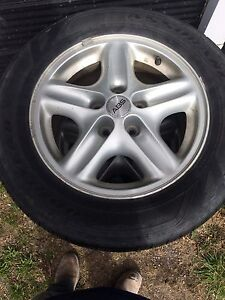Tires and rims from 2005 Chevy venture