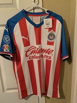 01420126cab Chivas de Guadalajara Home Jersey Camisa 2019/2020 Large