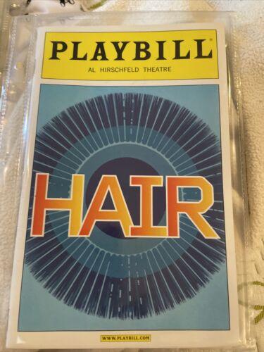 Hair Playbill Gavin Creel Will Swenson March 2009 Playbill - $8.00
