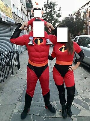 The Incredibles Family Costume (The Incredibles Family Costume Cosplay Kids Infant Adult Bodysuit Full Set)