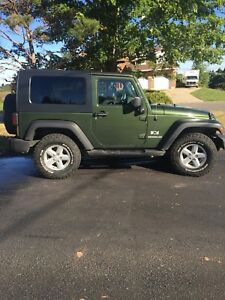 2007 Jeep Wrangler very low mileage