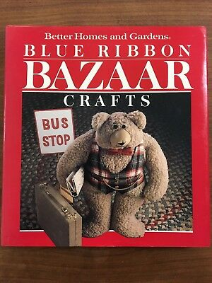 Better Homes and Gardens Blue Ribbon Bazaar Crafts to make for pennies and