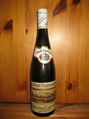 Weißwein, 0,7l Flasche Jahrgang 1981 - Ideal zum 40. Geburtstag (Kellerfund)