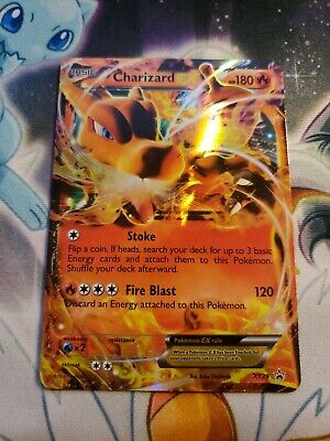 Pokemon Promo Holo Card XY29 Charizard Ex MP