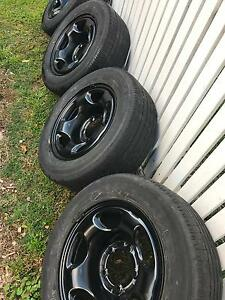 Turanza Tyres and Steel Rims 225/ 60 R16 North Melbourne Melbourne City Preview