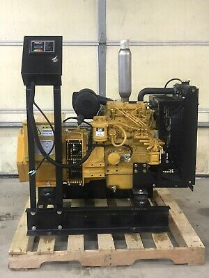 New 8 Kw Generator Caterpillar C1.1 Diesel Tier 4 120240 Volt Re-connectable