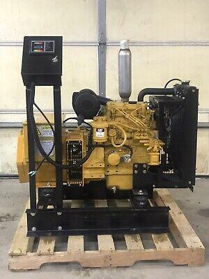 New 8 Kw Generator Caterpillar C1.1 Diesel 120240 Volt Re-connectable