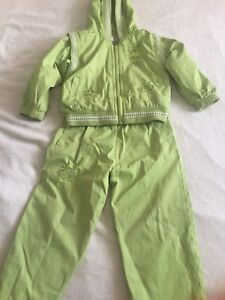 Girl's  worm suit