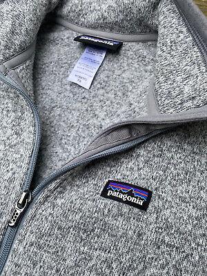 EUC Patagonia Women's Better Sweater Full-zip Fleece Jacket Heather Gray Size XS
