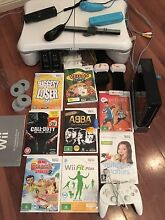 wii + games + accessories , wii fit plus & board + wii active 2 Oxley Vale Tamworth City Preview