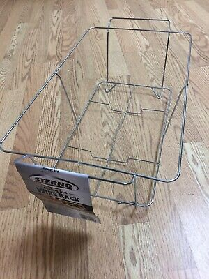 Sterno 70122 Chafing Dish Wire Rack, Silver