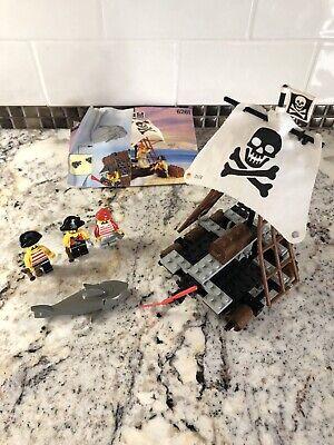 LEGO Raft Raiders Set 6261, Vintage LEGO 6261, Pirate mini figures and shark
