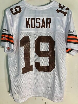 Reebok Women's NFL Jersey Cleveland Browns Kosar White sz - Blank Reebok Jersey
