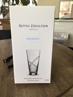 Royal Doulton Promises Crystal Vase
