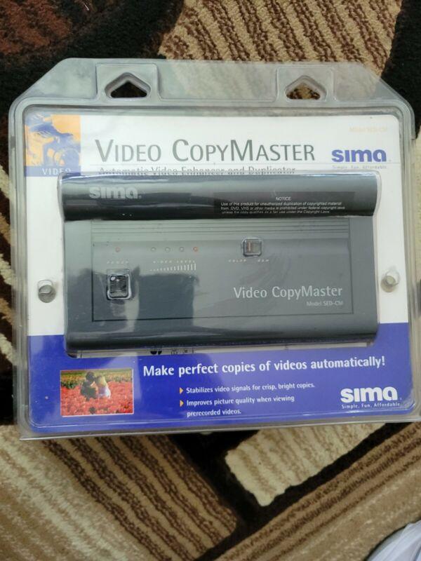 Sima Video CopyMaster SED-CM Automatic Video Enhancer and Duplicator